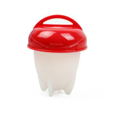 Egg Cup Mini Silicone Cooking Egg Boiler 6pcs