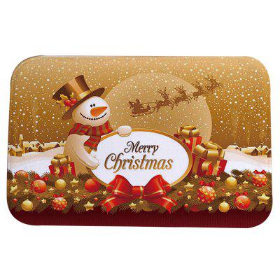 Christmas Mat Cute Cartoon dywan