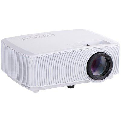 RD - 816 Home Use Projector for Android iOs Mobile Phone WiFi On-screen