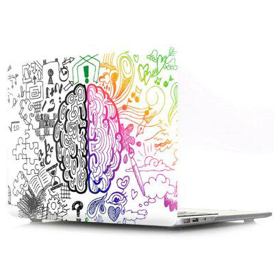 Laptop Case for MacBook Retina 13.3 Doodle Left And Right Brain