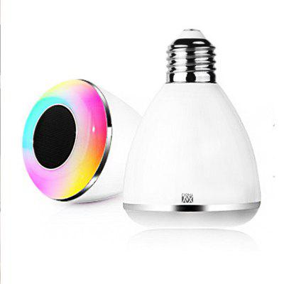 YWXLight E27 6W ampoule LED intelligente Bluetooth pour téléphone portable