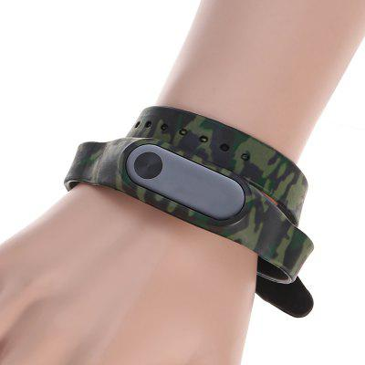 Long Belts Around Two Circles Camouflage Pattern Replacement Wristband for miband 2