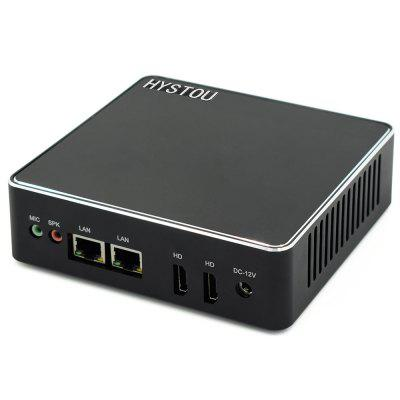 HYSTOU H1 - J3160 - 1C Fanless Mini PC Barebone Image