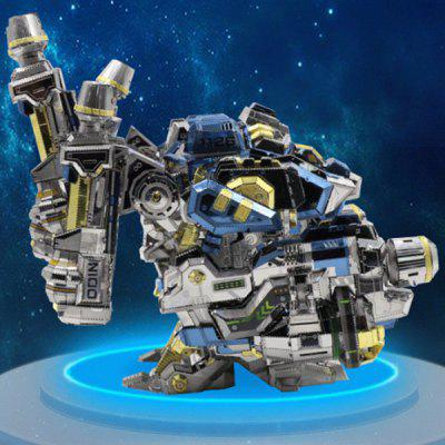 Model Building DIY 3D Puzzle Stainless Steel Model