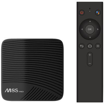 Mecool M8S PRO L 4K TV Box Amlogic S912 Bluetooth 4.1 + HS from Gearbest