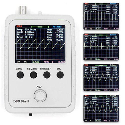 Gearbest DSO150 Handheld Digital DIY Oscilloscope Set - WHITE