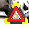 BRELONG Simple Multi-function Solar Charging Triangle Field Camping Light - YELLOW