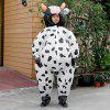 Fancy Dress Cosplay Performance Fan Inflatable Cows Toys Costume Suit Christmas Party 170cm - WHITE