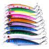 HENGJIA MI02710 11cm / 13g Minor Lua Lure Fishing Supplies Minor Bait 10pcs - MULTI COLORI