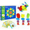 Educational DIY Toy Wooden Puzzle for Children - MULTI