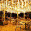 KPSSDD Remote Control Multifunctional Waterproof LED Meteor Shower Shape String Light - WHITE