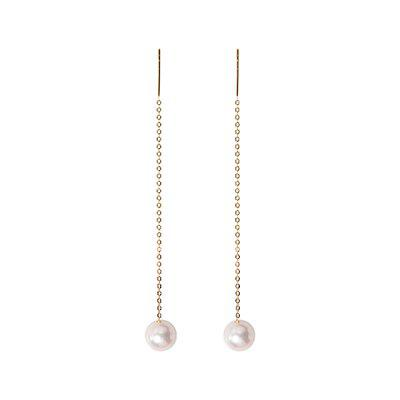 Xiaomi youpin MKL Classic One Series 5.5 - 6mm Akoya Pearl Ear Wire 1 Pair