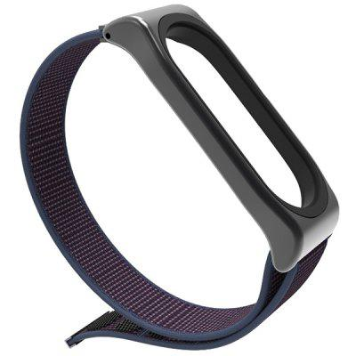 MIJOBS Nylon Loopback Wristband Light and Breathable Fast for Xiaomi Mi Band 3