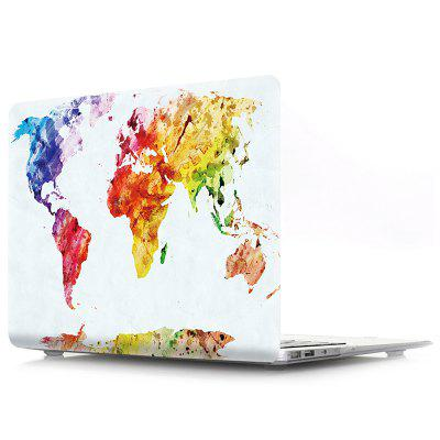 Pouzdro na notebook pro MacBook Pro 15.4 Watercolor World Map