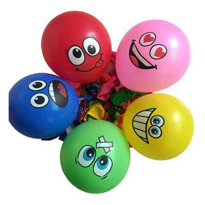 12 inch Big Eyes smileyballon