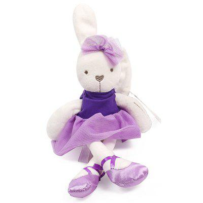 Rabbit Holding Even Baby Comfort Doll Baby Accompanying Sleeping Plush Toy