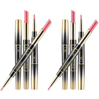 QIC Multifunction Lipstick Pen Lipstick Pen And Lip Liner On Each Side Makeup 1 Pc