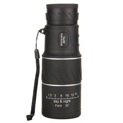 16X52 Twill Leather High Magnification Ultra Clear Double Tone Full Optical HD Low Light Night Vision Telescope