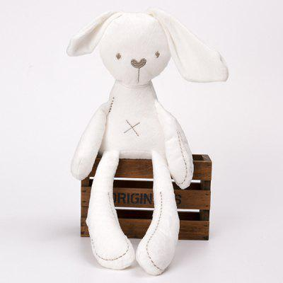 Cute Rabbit Doll Baby For Children Bunny Sleeping Mate Soft Plush Toys