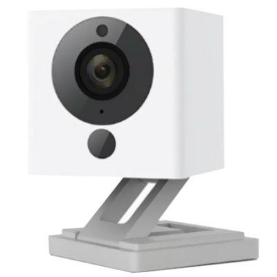 1080P Small Square Smart Camera Can Be Used for Voice Intercom Identifiable Smoke in Combination with Charging Treasure
