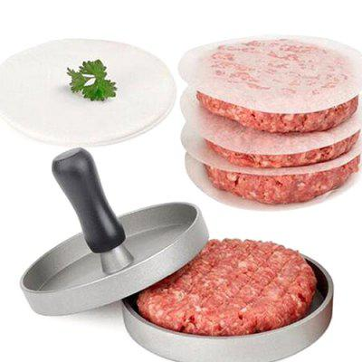 Stainless Steel Handle Burger Meat Press Mold