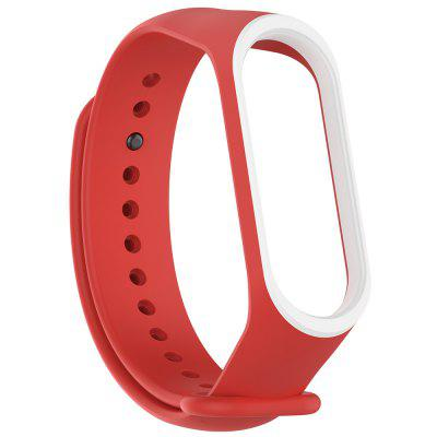 Double-color Replacement Silicone Wristband for Xiaomi Mi Band 3