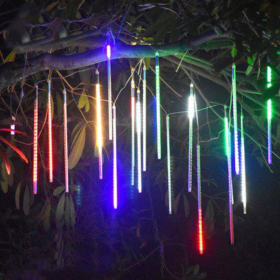 KPSSDD Decorative Remote Control Multifunctional Waterproof RGB Meteor Shower Shape String Light
