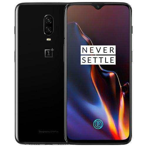 Gearbest OnePlus 6T 4G Phablet 6.41 inch International Version - MIRROR BLACK 8GB RAM 128GB ROM Light-sensitive Screen Fingerprint 3700mAh Built-in