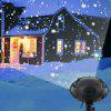BRELONG Christmas LED Outdoor Snowflake Projector Light Remote Control - BLACK
