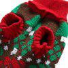 Autumn And Winter Pet Dog Christmas Sweater - RED