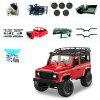 1 Set MN - 90 Kit / MN - 91 Kit 1 / 12 2.4G 4WD Rc Car Crawler Monster Truck Without ESC Transmitter Receiver Battery - ROT