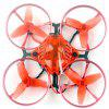 Happymodel Snapper 7 Brushless Whoop Aircraft BNF Micro 75mm FPV Racer Quadricottero 4 in 1 Crazybee F3 FC Frsky RX 700TVL Telecamera VTX - ROSSO