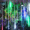 KPSSDD Decorative Remote Control Multifunctional Waterproof RGB Meteor Shower Shape String Light - WHITE