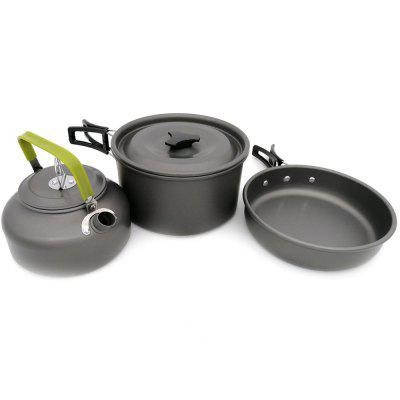 Outdoor Supplies Camping Portable Teapot Pot Set