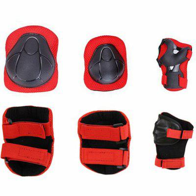 Children Protective Gear Knee Pads Elbow Pads Palm Skating Scooter Accessories 6pcs (Gearbest) Cleveland Buy goods