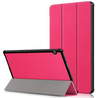 Tri - Fold Custer Case For HUAWEI Glory Tablet 5 / Enjoy The Tablet 10.1