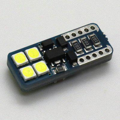 T10-8SMD-3030 Car Led Light Modified Width Lamp with Decode 12-24V 2PCS Decoding Highlight