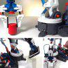 Children's Science Model Assembly Set Boy DIY Hydraulic Power Machine Arm Only Water Without Battery - WHITE