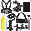 Self-timer Underwater Suit for All Sports Cameras GOPRO HERO 4 / 3+ / 3 / 2 / 1 / sj4000 / sj5000 / sj6000 - BLACK