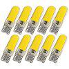 T10 W5W Car LED Refit Lamp 10PCS - ARANCIO