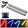 LED 17cm Black Shell 1PCS Daytime Running Lights - YELLOW