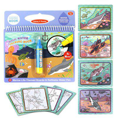 Magic Water Drawing Book  Magic Pen Painting Drawing Board