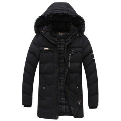 Simple Thick Cotton Down Jacket