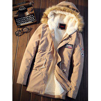 Men's Cotton Winter Hooded Coat