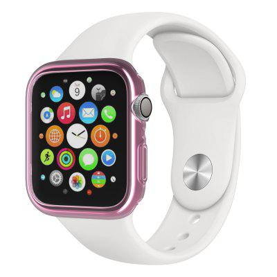 40MM-TPU für Apple Watch iWatch 4 Generationen TPU Fall Rosa