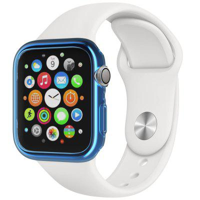 40MM TPU Case For Apple Watch iWatch 4 Generation TPU Case Transparent Blue