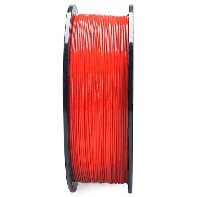 K-Camel Fournitures d'Impression 3D PLA 1.75mm Rouge 0.5kg