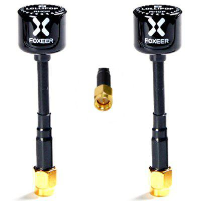 Foxeer Lollipop 2 RHCP SMA / RP - SMA 5.8G 2.5dBi Super Mini Antenna For FPV Racing Drone