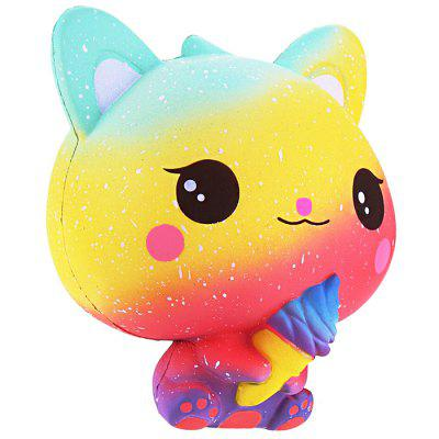 Slow Rebound Ice Cream Cat New Squishy Toy
