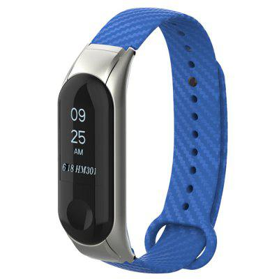 Colorful Tape Replacement Wristband Metal Shell Strap for Xiaomi Mi Band 3